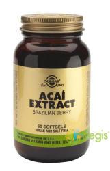 Solgar Acai Extract - 60 comprimate