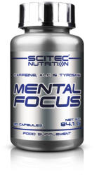 Scitec Nutrition Mental Focus - 90 comprimate