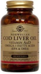 Solgar Cod Liver Oil (Ulei din ficat de cod) - 100 comprimate