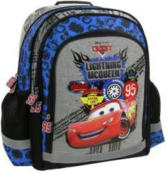 DERFORM Verdák - Villám McQueen (Lightning McQueen) iskola hátizsák, 38x29x16cm (PL15CA38)