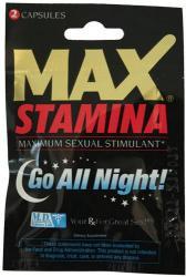 Възбуждащи таблетки Max Stamina за мъже - sextoys