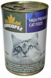 Chicopee Cat Rabbit Tin 400g