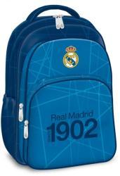 Ars Una Real Madrid - 3 rekeszes tinédzser iskola hátizsák, kék (94767650)
