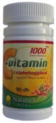 Nature's Prime C-vitamin 1000mg kapszula csipkebogyóval - 90 db