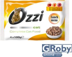 Ozzi Cat Beef, Poultry & Liver 4x100g