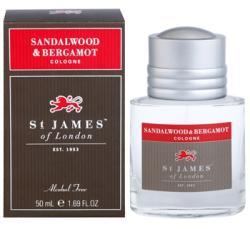 St. James of London Sandalwood & Bergamot EDC 50ml