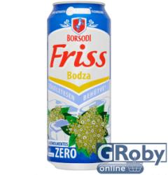 Borsodi Friss Zero Bodza ízesített sör 0.5% 0,5l