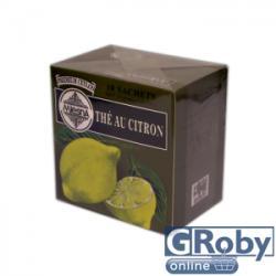 MlesnA Fekete Tea Citrom Ízű 10 filter