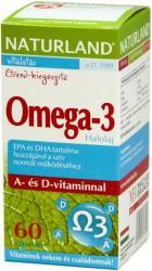 Naturland Omega-3 halolaj kapszula - 60 db
