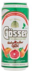Gösser NaturRadler Grapefruitos alkoholmentes sörital 0.0% 0,4l - édesítőszerrel