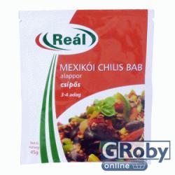 Reál Mexikói Chilis Bab Alappor (45g)