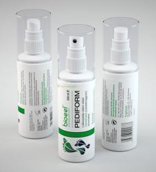 Bioeel Pediform Lábszagűző lábpermet formaldehides, mentolos 100ml