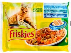 Friskies Adult Salmon, Tuna, Sardine & Cod 4x100g