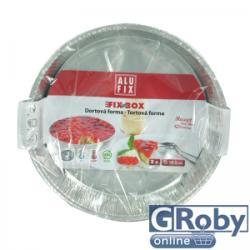 Alufix Fix-Box közepes tortaforma 19,5cm átmérő (2db)