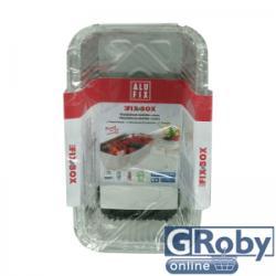 Alufix Fix-Box 4 adagos sütőforma 1,1l (3db)