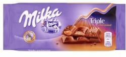 Milka Triple á la Caramel tejcsokoládé (90g)