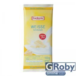 frankonia Laktózmentes fehércsokoládé (100g)