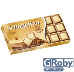 Schogetten Trilogia tejcsokoládé (100g)