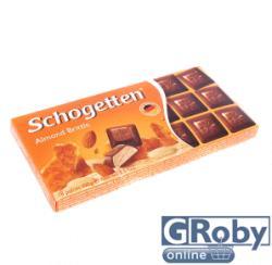 Schogetten Tejcsokoládé mandulás krémmel és ropogós manduladarabokkal (100g)
