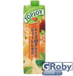 Topjoy Narancs-alma-ananász-csillaggyümölcs ital 1L