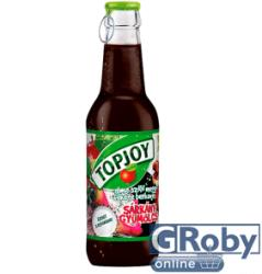 Topjoy Alma-szõlõ-meggy-berkenye-sárkánygyümölcs ital 0,25L