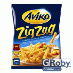 Aviko Zig Zag hullámos hasábburgonya 750g