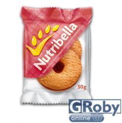 Nutribella Teljes Kiőrlésű Meggyes-Almás Keksz (50g)