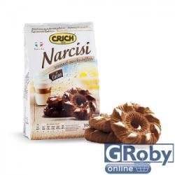CRICH Narcisi Kakaós Édes Keksz (300g)