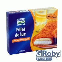 FRoSTA Gyorsfagyasztott Fillet de lux halfilé, sajttal töltve 220g