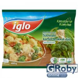 Iglo Fagyasztott karfiol-brokkoli duó 400g