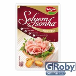 Sága Gluténmentes Selyemsonka (100g)