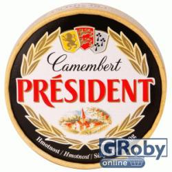 PRÉSIDENT Camembert Natúr Sajt (120g)