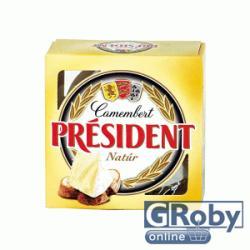 PRÉSIDENT Camembert Natúr Sajt (90g)