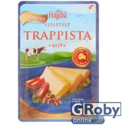 Hajdú Füstölt Szeletelt Trappista Sajt (125g)