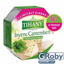 TIHANY Ínyenc Camembert Medvehagymás (125g)