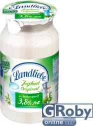 Landliebe Natúr joghurt 3,8% zsírtartalommal 200g
