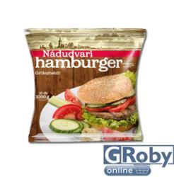 Nádudvari Fagyasztott hamburger húspogácsa 10db 1kg