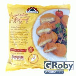 GALLICOOP Panírozott sajttal töltött pulykamellérme 1kg