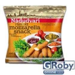 Nádudvari Gyorsfagyasztott panírozott mozzarella snack 350g