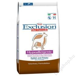 Exclusion Hypoallergenic - Rabbit & Potato 3kg