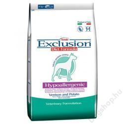 Exclusion Hypoallergenic - Venison & Potato 12,5kg