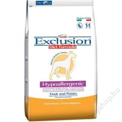Exclusion Hypoallergenic - Duck & Potato 3kg