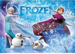 Clementoni Jégvarázs: Anna, Elsa és Olaf 104 db-os csillámos puzzle (29712)