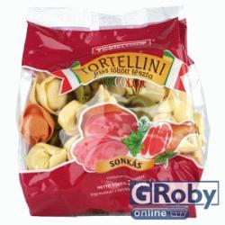 Tortellino Sonkás tricolor tortellini 250g