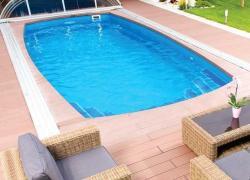 Wellis Costa Rica úszómedence, gépészettel 750x350x150cm (COSTARICA_GEPESZET)