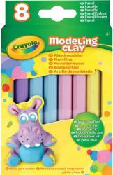 Crayola Pasztell gyurma - 8 db-os