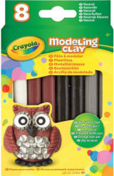 Crayola Natúr színű gyurma - 8 db-os