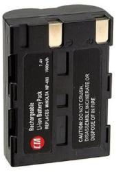 Konica Minolta Maxxum 7D 7.4V 1600mAh utángyártott Lithium-Ion kamera/fényképezőgép akku/akkumulátor