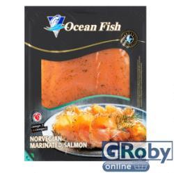 Ocean Fish Kapros marinált lazac szeletek 150g