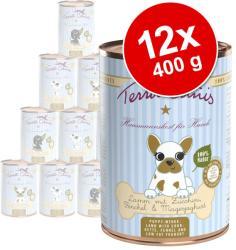 Terra Canis Puppy - Lamb 12x400g